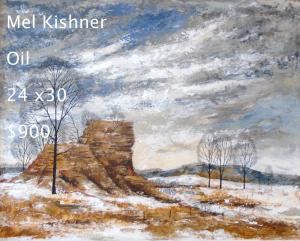 Mel Kishner   oil    24x30 / SOLD