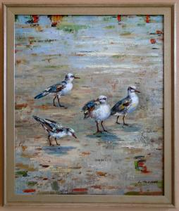 Oil painting / framed 20x24 / $375