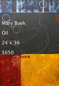 Mary Buek  Oil   24x36 / $650